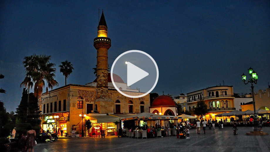 kos town kos town greece video