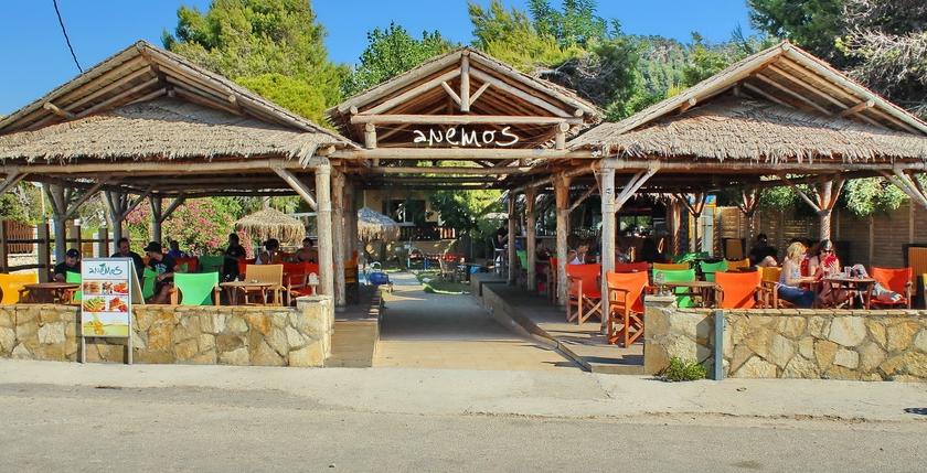 Anemos Beach Bar 1