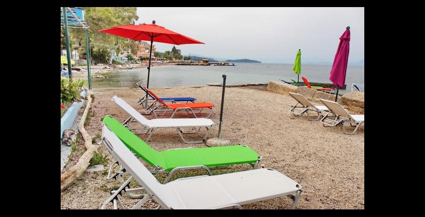 Avra on the beach 8