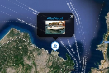 Corfu Map Boat Rental
