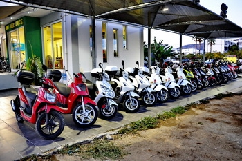 Lefkada Car Rental Scooter Bike MotorBike Motorcycle