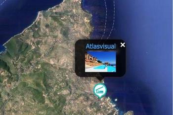 Lefkada Map Villas