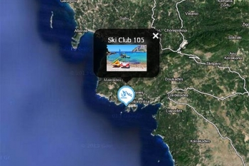 Corfu Map Watersports