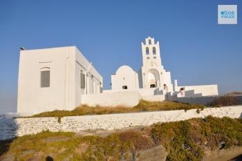 Sifnos Monastery of Chrissopigi 1