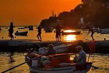 Horto Pelion sunset
