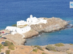 Sifnos Monastery of Chrissopigi 2