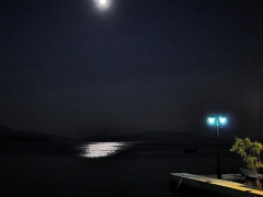 Horto Pelion full moon