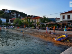 Horto Pelion  one of the beaches