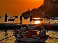 Horto Pelion sunset