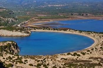 Peloponnese Voidokilia Castle